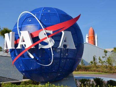 Тест двигателя ракеты NASA