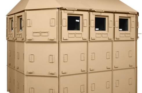 Складной дом защитит от бомб и зомби