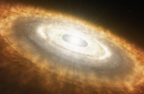 Астрономы исследуют рождение новой планеты «в режиме реального времени»
