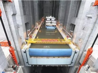 Гигантский лифт для грузовых судов