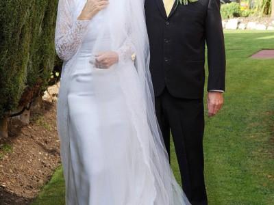 50-летние свадебные наряды. Кэролл-Энн и Джим Стэнфилд
