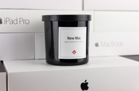 Для любителей Apple выпустили свечи с уникальным запахом