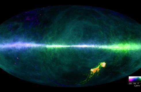 Астрофизики показали весь Млечный путь