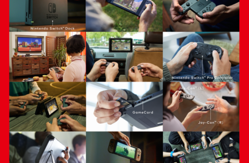 Nintendo Switch – новая игровая консоль от японцев