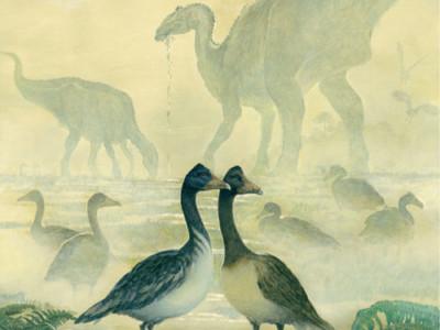 Пение динозавров. Vegavis iaai