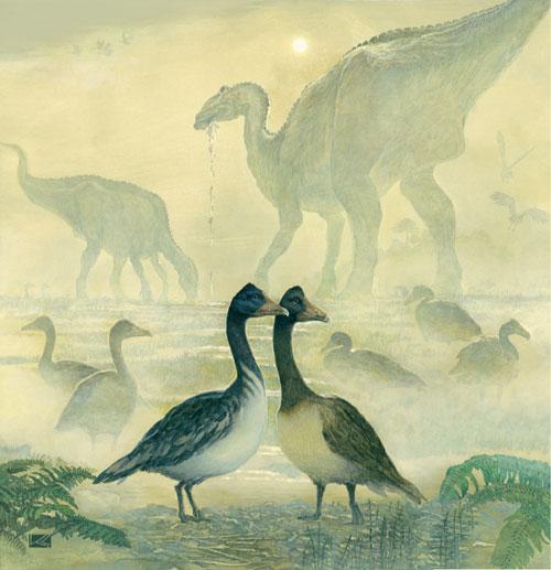 Ученые поняли, как пели динозавры