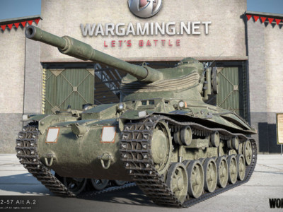 World of Tanks обновилась. Танк Str m/42-57 Alt A.2