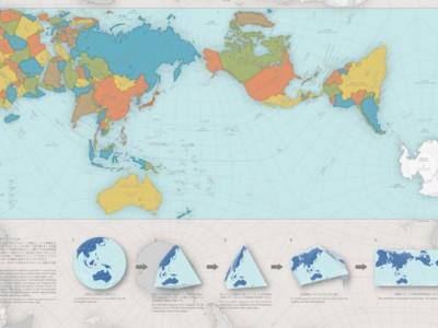AuthaGraph изображает планету такой, какая она есть