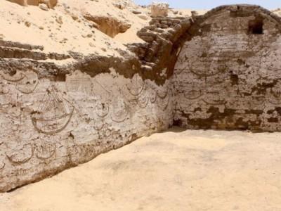 Древние египетские лодки. Изображение