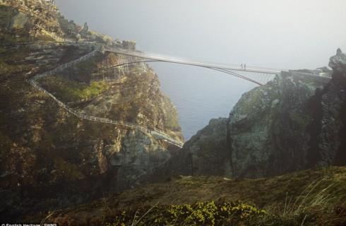 Британцы воссоздают мост короля Артура