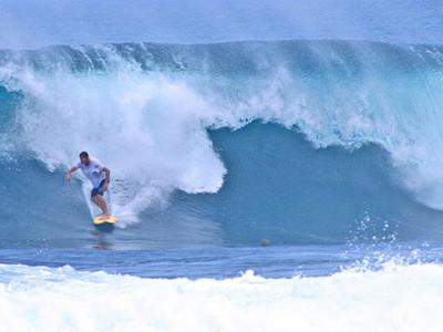 Лучшие места для серфинга: Cloud 9