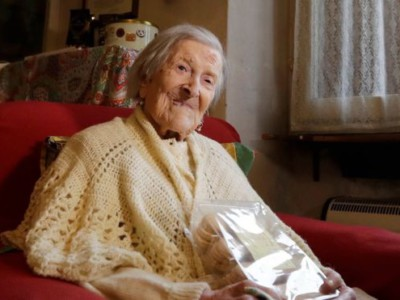 Самая старая женщина планеты — Эмма Морано