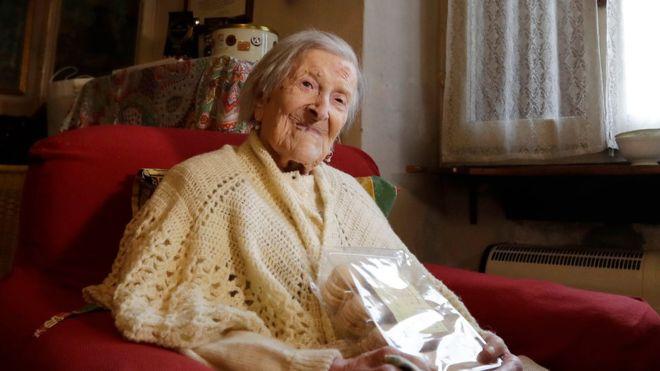 Самая пожилая дама мира отметила 117-летие