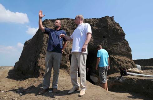 Появилось единое археологическое поле России