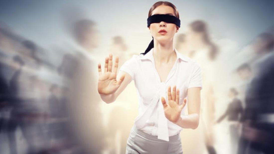 люди слепые фото