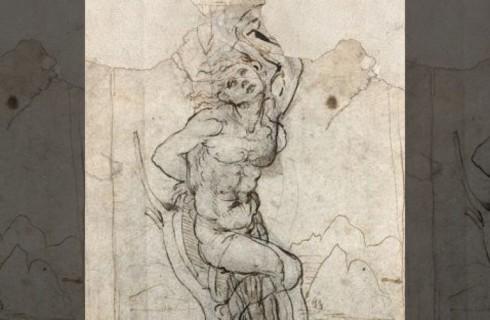 Найден новый рисунок да Винчи