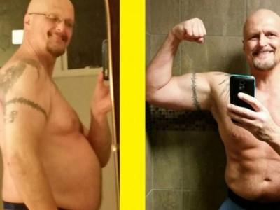 Похудевшие мужчины. Марк Варнке: до и после