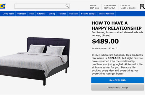 Ikea удивит покупателей