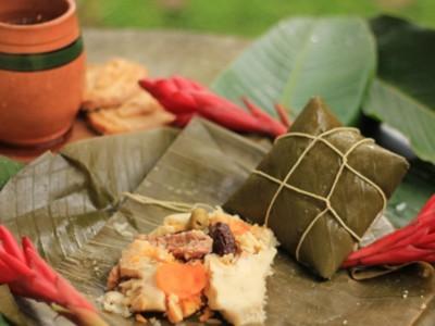 Новогодние блюда: Тамалес