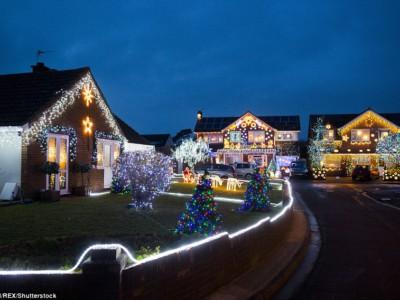 Праздничная улица Британии