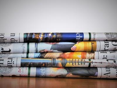 Популярность телевидения и газет снижается