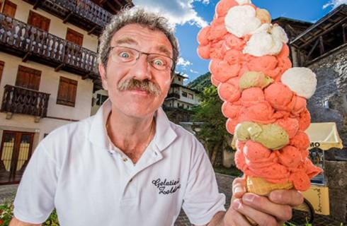 Как выглядит самый большой рожок мороженого