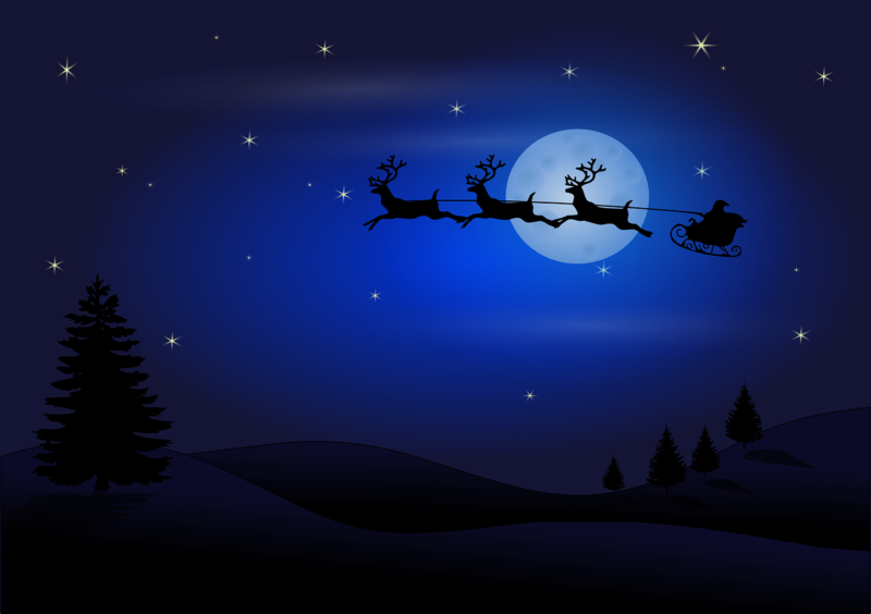 Ученые поняли, как Санта умудряется перемещаться по миру
