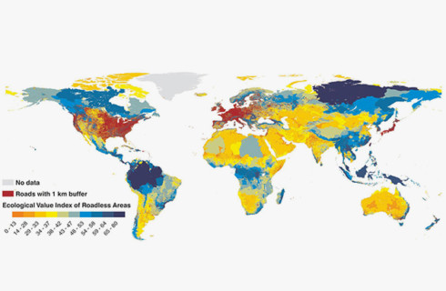 Сибирь попала во всемирную карту бездорожья