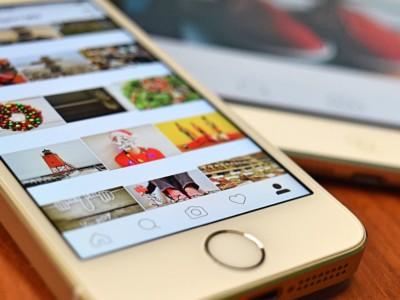 Сохранять фото в Instagram