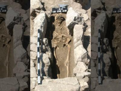 Древние и нфекции. 800-летнее захоронение