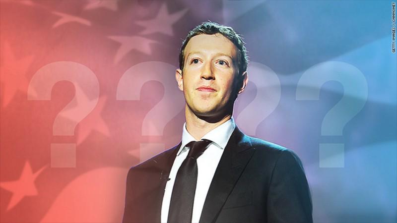 Марк Цукерберг баллотируется в президенты?