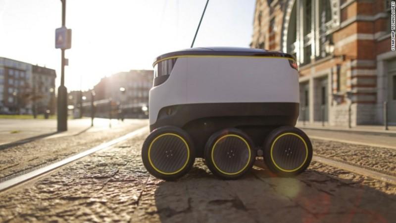 Доставкой займутся роботы