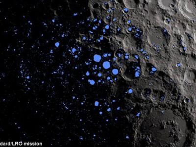 Молнии на Луне