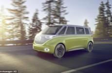 Volkswagen разработала электрический микроавтобус