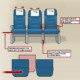 Средние сидения в самолете станут удобнее