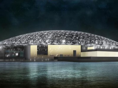Новые здания 2017 : Лувр Абу-Даби