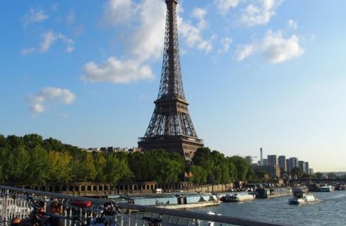 Париж оказался настоящим городом любви