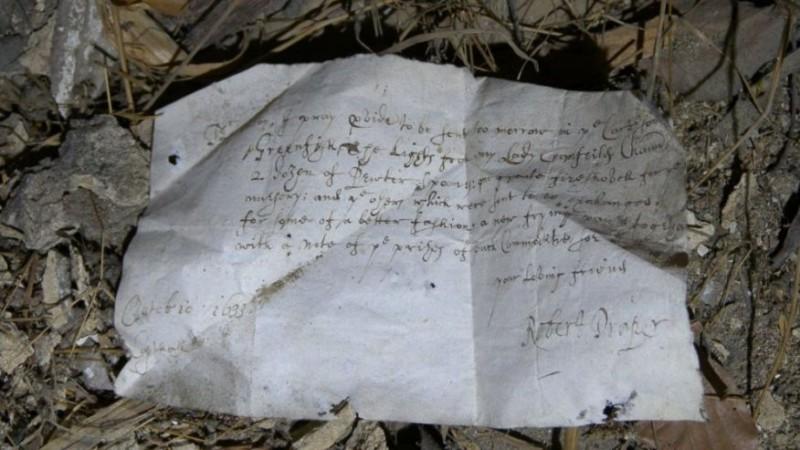 Список покупок 17 века