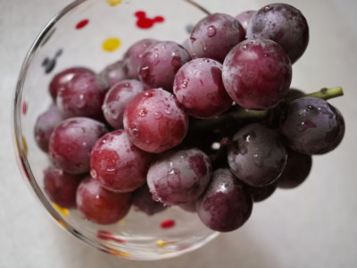 Продукты для сердца. Виноград