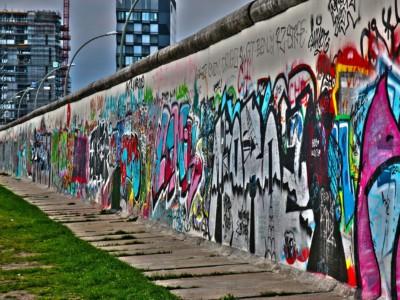 Лучшие пешие маршруты. Берлинская стена