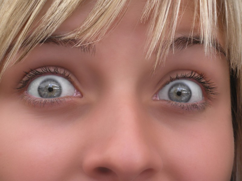 Глаза человека выдают эмоции