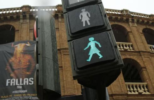 Австралия разделила светофоры по полу