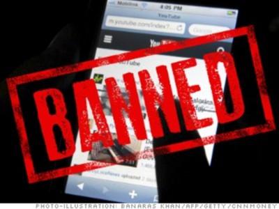 Запрещено в Китае: иностранные сайты