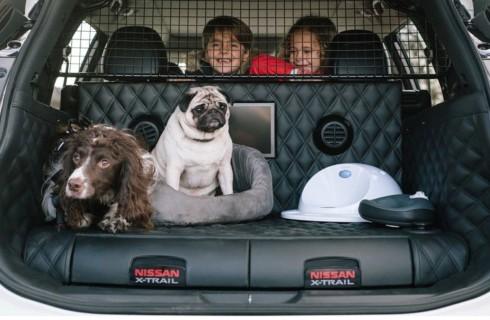 Nissan выпустил автомобиль для собак