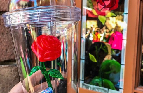 Стакан с волшебным цветком за 4 000 рублей