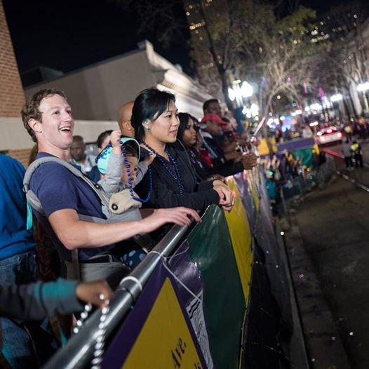 Марк Цукерберг станет отцом во второй раз