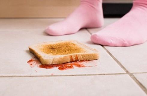 Правило пяти секунд для упавшей еды можно изменить на правило 30 минут?