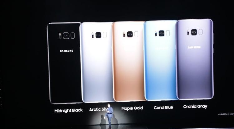 Galaxy S8 представили официально