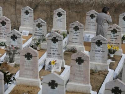Интерактивные надгробия. Кладбище в Португалии