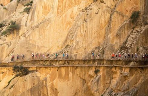 Экстремальный путь для туристов